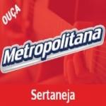 Logo da emissora Rádio Metropolitana SP FM Sertaneja