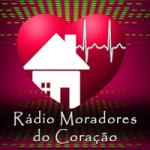 Logo da emissora Rádio Moradores do Coração