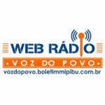 Logo da emissora Web Rádio Voz do Povo