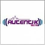 Logo da emissora Radio Autentik 100.7 FM