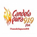 Logo da emissora Radio Candela Pura 91.9 FM