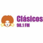 Logo da emissora Radio Clásicos 98.1 FM