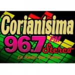 Logo da emissora Radio Corianisima 96.7 FM