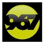 Logo da emissora Radio LA 967 FM 96.7