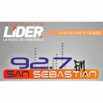 Logo da emissora Radio San Sebastian 92.7 FM