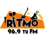 Logo da emissora Radio Ritmo 96.9 FM