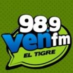 Logo da emissora Radio Ven 98.9 FM