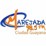 Logo da emissora Radio Marejada 98.5 FM
