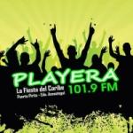 Logo da emissora Radio Playera 101.9 FM