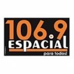 Logo da emissora Radio Espacial 106.9 FM