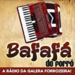 Logo da emissora Rádio Bafafá do Forró