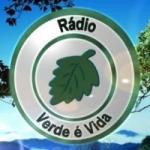 Logo da emissora Rádio Web Verde é Vida