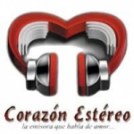 Logo da emissora Radio Corazon Estereo