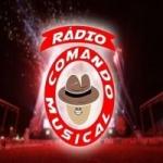 Logo da emissora Rádio Comando Musical