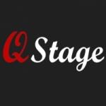 Logo da emissora R�dio Q Stage
