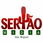 Logo da emissora Rádio Sertão Midia São Miguel