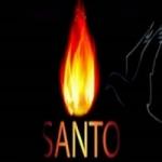 Logo da emissora Rádio Santo Santo Santo