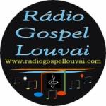 Logo da emissora R�dio Gospel louvai