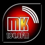 Logo da emissora Radio MK 104.9 FM