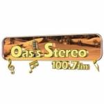 Logo da emissora Radio Oasis Stereo 100.7 FM