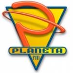 Logo da emissora Radio Planeta 105.3 FM