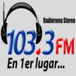 Logo da emissora Radiorama 103.3 FM