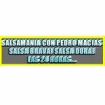Logo da emissora Radio Salsamania