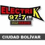 Logo da emissora Radio Electrik 97.7 FM