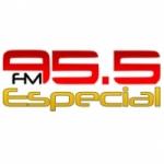 Logo da emissora Radio Especial 95.5 FM