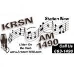 Logo da emissora KRSN 1490 AM