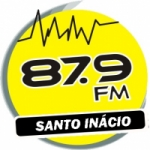 Logo da emissora R�dio Santo In�cio 87.9 FM