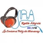 Logo da emissora Radio Alegria 99.3 FM