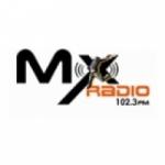 Logo da emissora MX Radio 102.3 FM