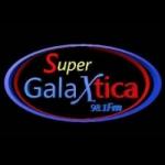 Logo da emissora Radio Supergalaxtica 98.1 FM
