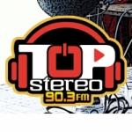 Logo da emissora Radio Top Stereo 90.3 FM