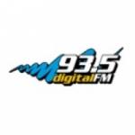 Logo da emissora Radio Digital 93.5 FM