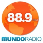 Logo da emissora Mundo Radio 88.9 FM