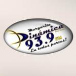 Logo da emissora Radio Din�mica 93.9 FM