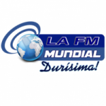 Logo da emissora Radio 104.1 La FM Mundial