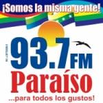 Logo da emissora Radio Para�so 93.7 FM