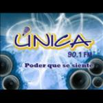 Logo da emissora Radio Unica 90.1 FM