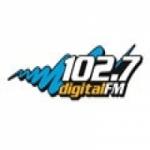 Logo da emissora Radio Digital 102.7 FM