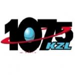 Logo da emissora KZL 107.5 FM
