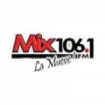 Logo da emissora Radio Mix 106.1 FM