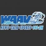 Logo da emissora WAAV 980 AM