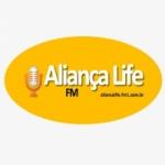 Logo da emissora Rádio Aliança Life FM