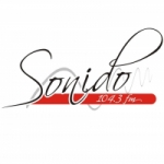 Logo da emissora Radio Sonido 104.3 FM