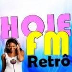 Logo da emissora Rádio Hoje FM Retrô