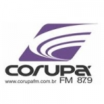 Logo da emissora R�dio Corup� 87.9 FM