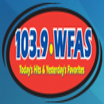 Logo da emissora WFAS 103.9 FM